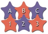 ABC 123 Stars